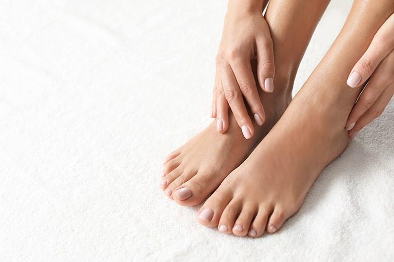 Kur för ansikte, händer och fötter